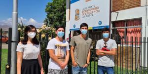 Liceo Mixto Bicentenario Los Andes acentúa el trabajo con plataforma Puntaje Nacional que prepara estudiantes para la educación superior